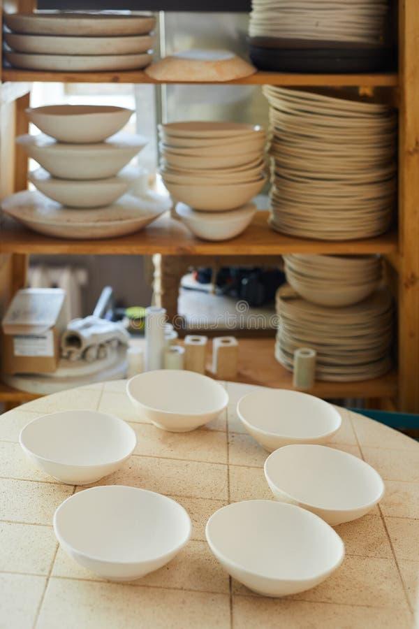 Ceramische workshop royalty-vrije stock foto's