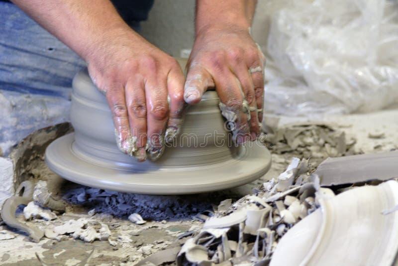 Ceramist royalty-vrije stock afbeeldingen