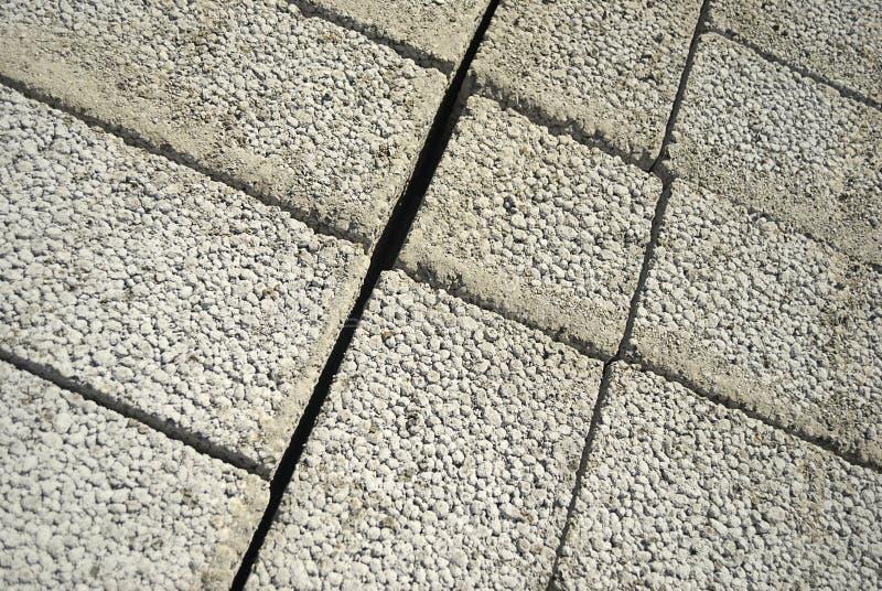 Ceramsite concrete blocks royalty free stock image