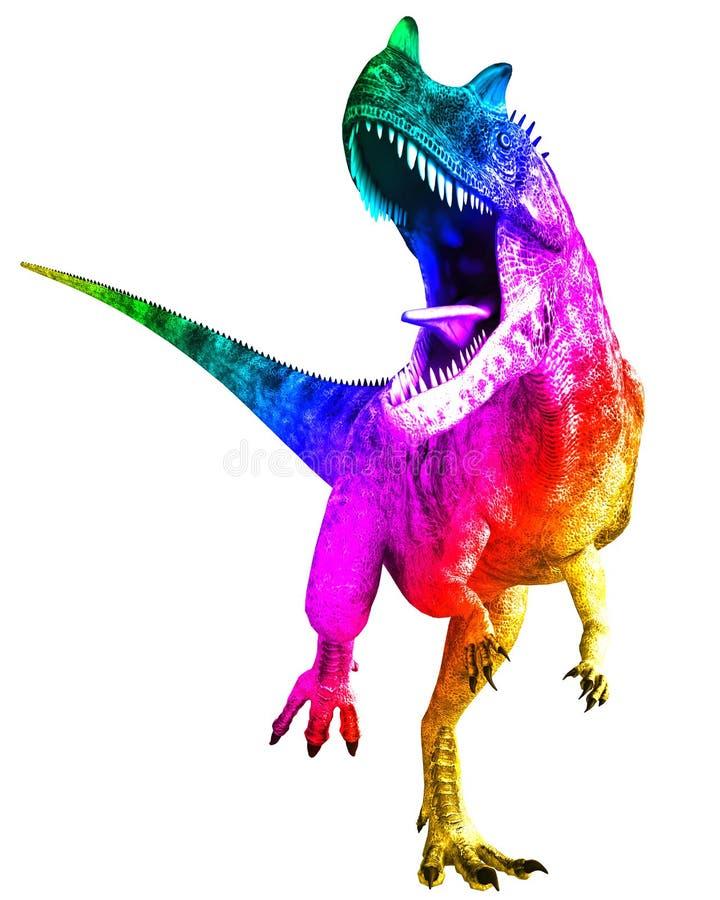 Ceratosaurus illustration de vecteur