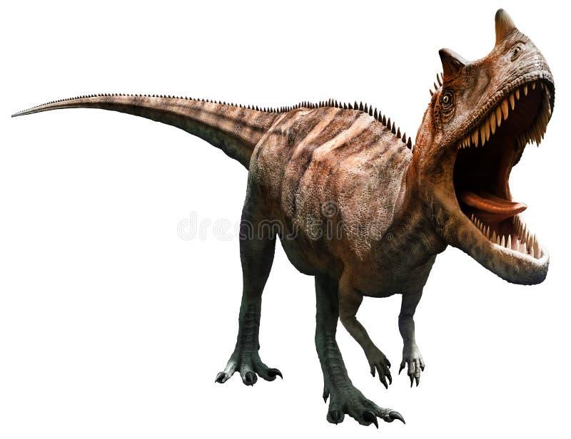 Ceratosaurus royalty ilustracja