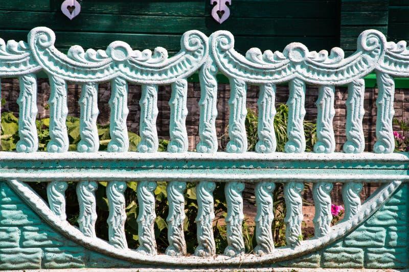 Cerca concreta estructural fotografía de archivo libre de regalías