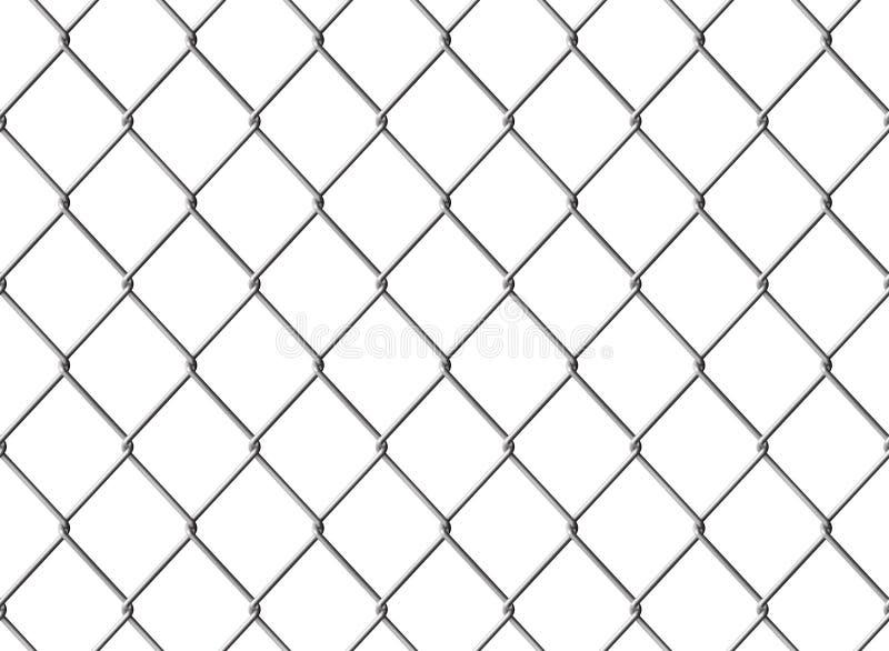 Download Cerca de Chainlink ilustração stock. Ilustração de aço - 16867941