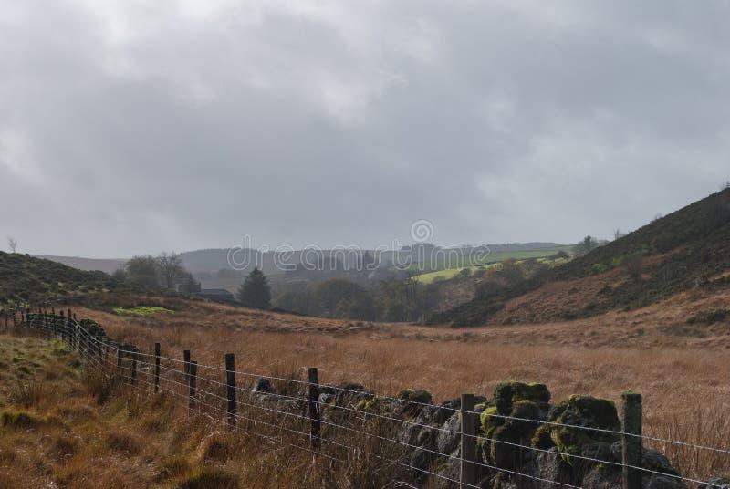 Cerca de Dartmoor foto de archivo