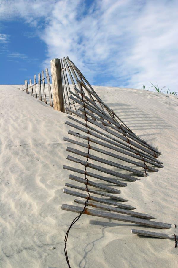 Cerca de la duna foto de archivo
