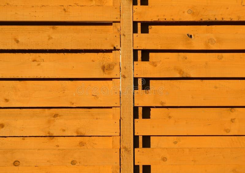 Cerca de madeira do jardim imagens de stock