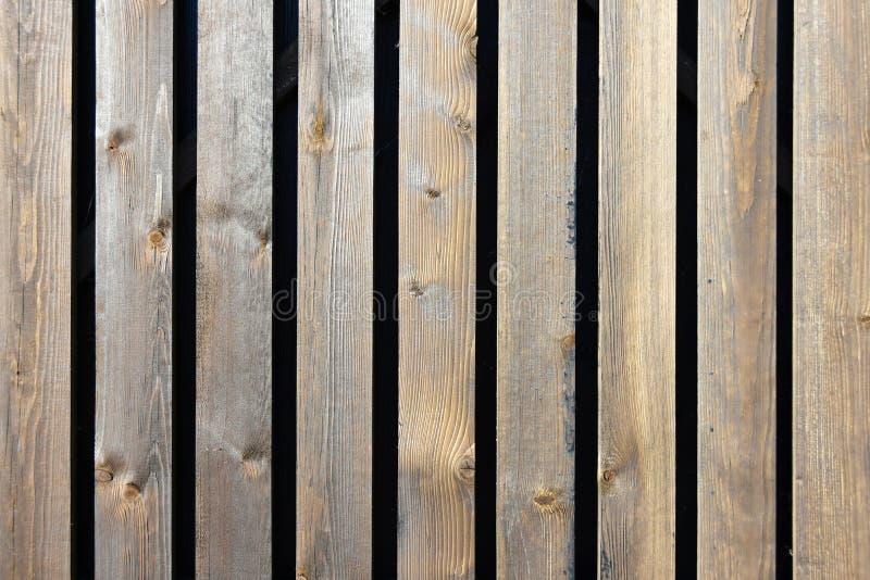 Cerca de madeira velha da textura do fundo das placas imagens de stock
