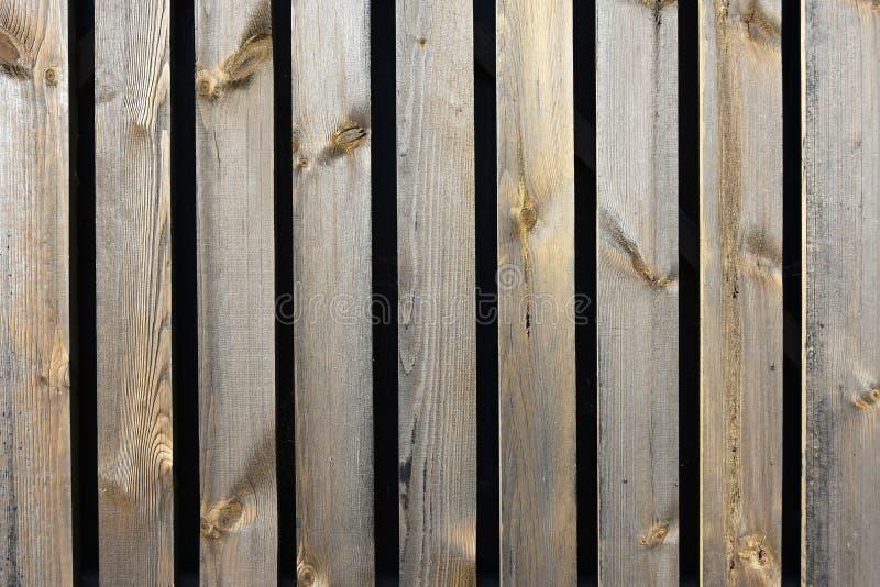 Cerca de madeira velha da textura do fundo das placas fotos de stock