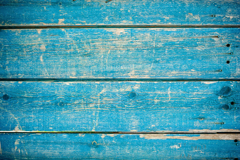 Cerca de madera azul imagen de archivo libre de regalías