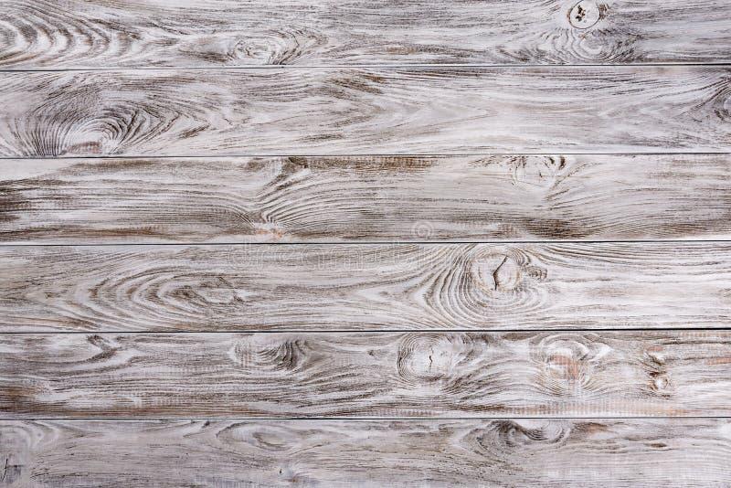 Cerca de madera vieja blanca fondo de madera de la palizada Textura de los tablones Copyspace para su texto, bandera fotos de archivo