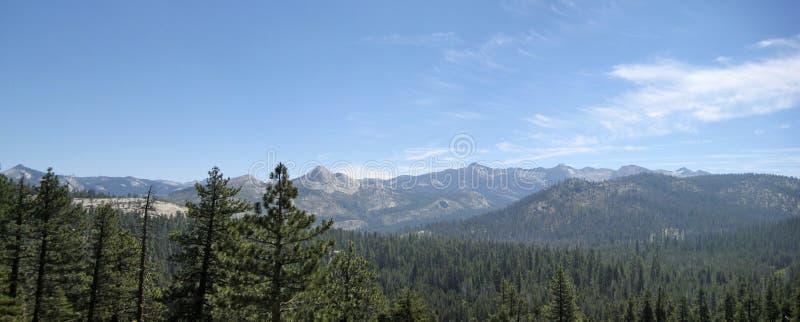 Cerca de punta del glaciar en Yosemite fotografía de archivo