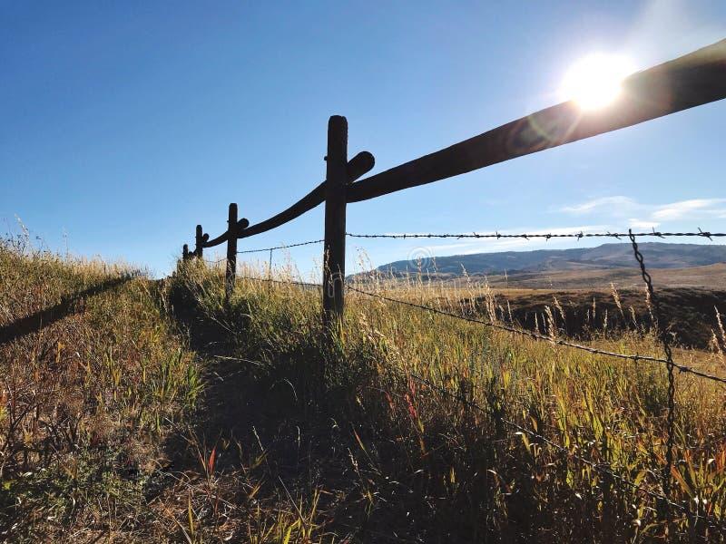 Cerca de Wyoming fotos de stock