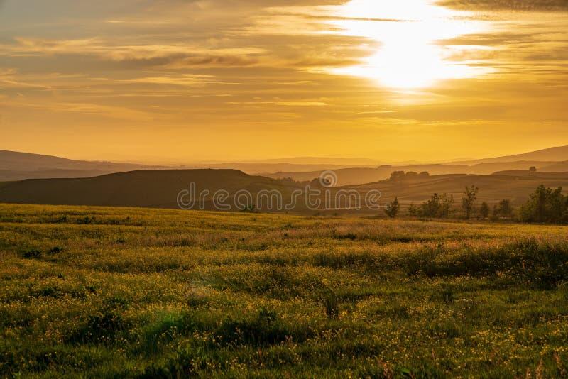 Cerca del Settle, North Yorkshire, Inglaterra, Reino Unido foto de archivo