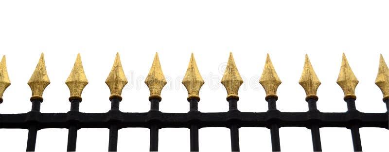 Cerca extravagante Isolation imagem de stock royalty free