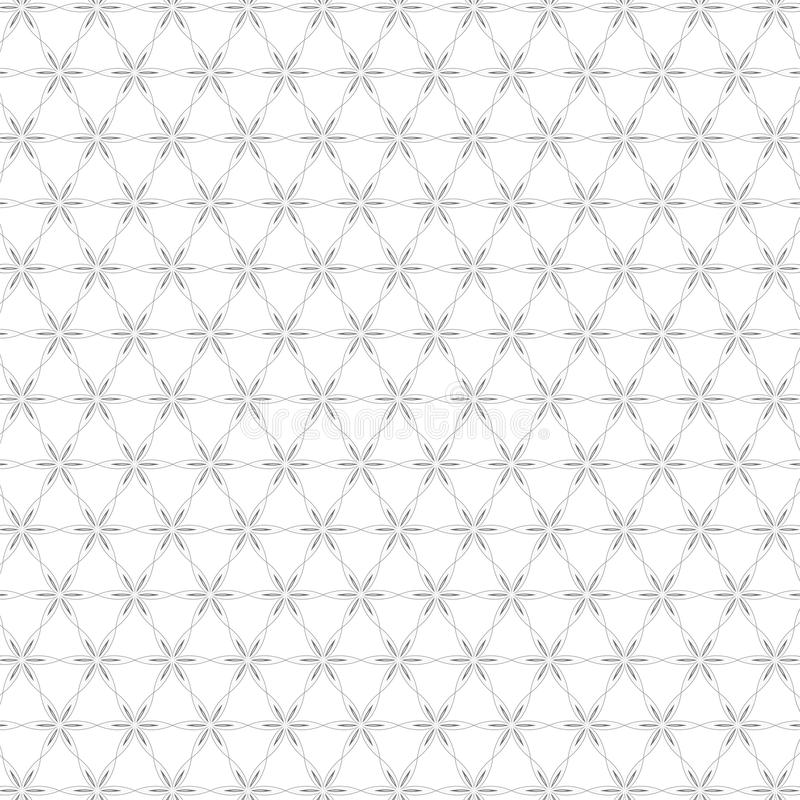 Cerca floral colorida abstrata luxuosa Pattern Texture Background da flor ilustração do vetor