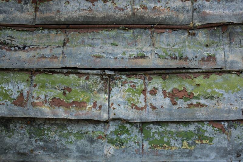 Cerca oxidada vieja foto de archivo libre de regalías