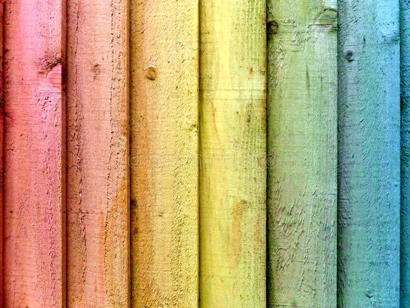 Cerca Panels do arco-íris imagens de stock royalty free