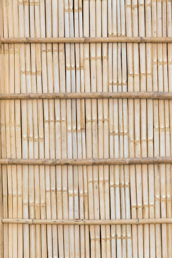 Cercas de bambu em áreas rurais imagem de stock royalty free