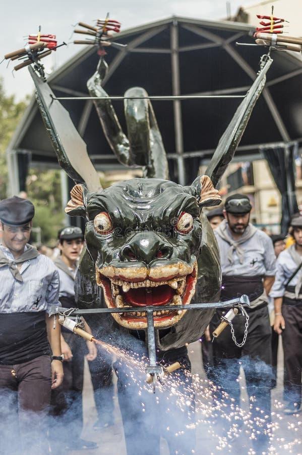 Download Cercavila Within Vilafranca Festa Major Editorial Stock Photo - Image: 27997658