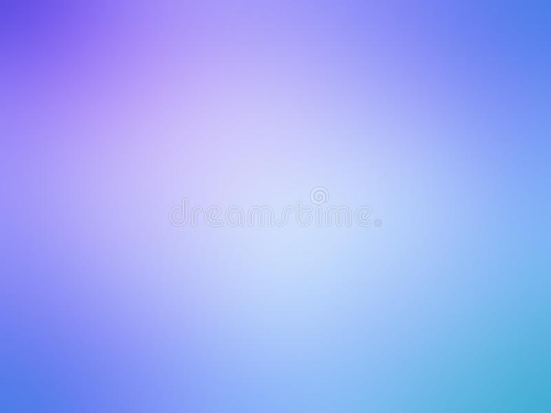 A cerceta azul roxa do inclinação abstrato coloriu o fundo borrado ilustração do vetor