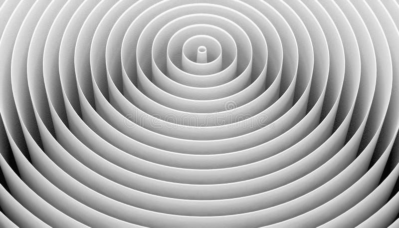 Cerchi bianchi immagini stock