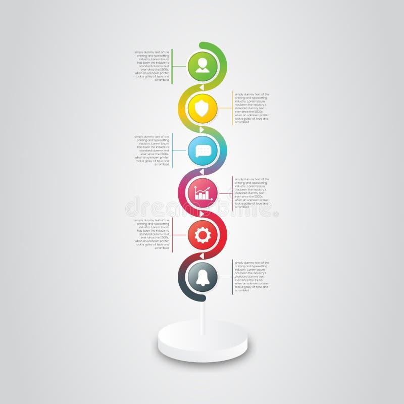 Cerchio dell'elemento di affari immagini stock