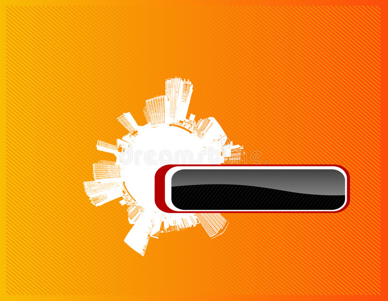 Download Cerchio Della Città Con Il Posto Per Il Proprio Testo. Illustrazione Vettoriale - Illustrazione di funky, drammatico: 3875033