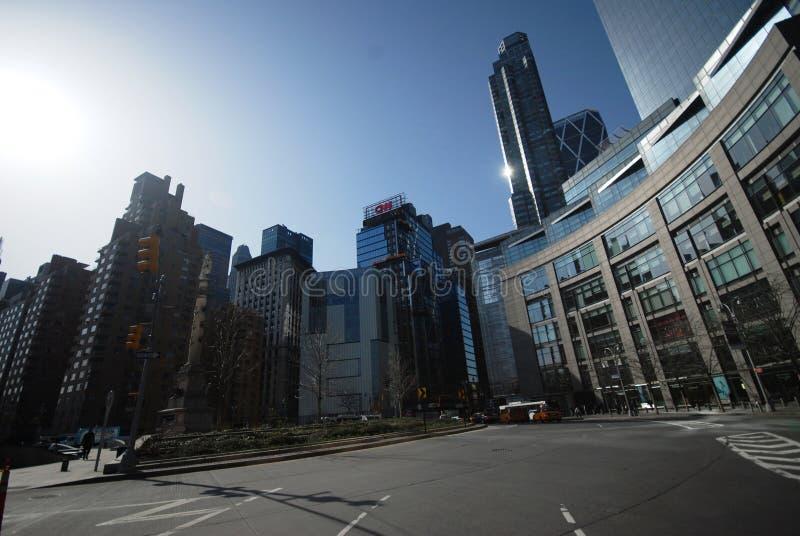 Cerchio di Columbus - New York immagini stock libere da diritti