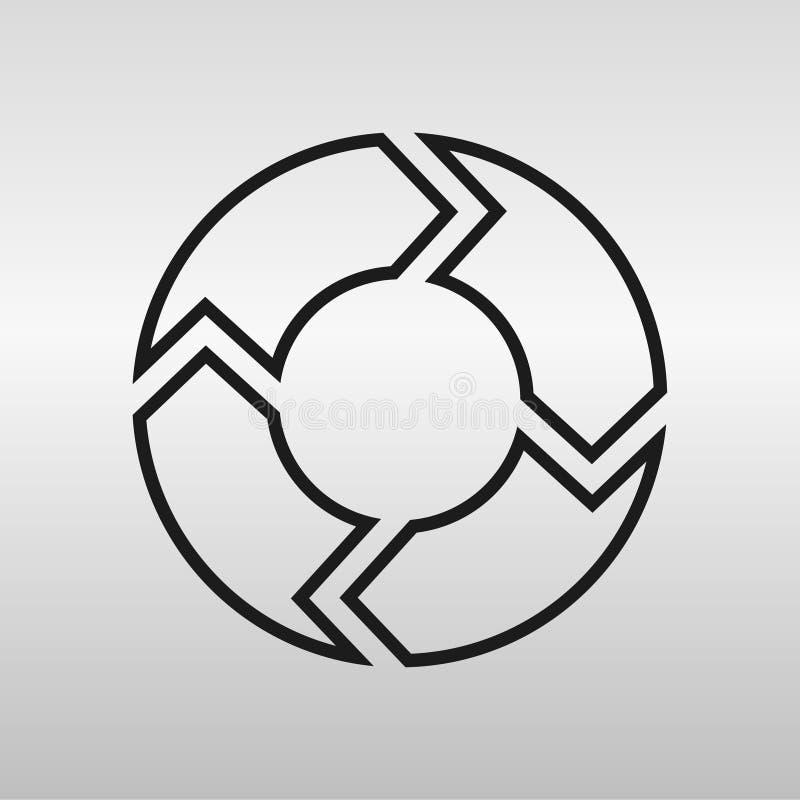 cercle illustration stock