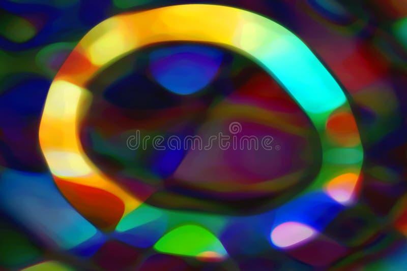 Cercle abstrait image libre de droits