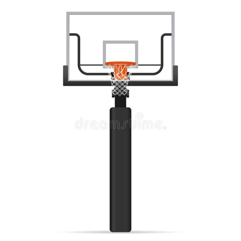 Cercle de basket-ball illustration de vecteur