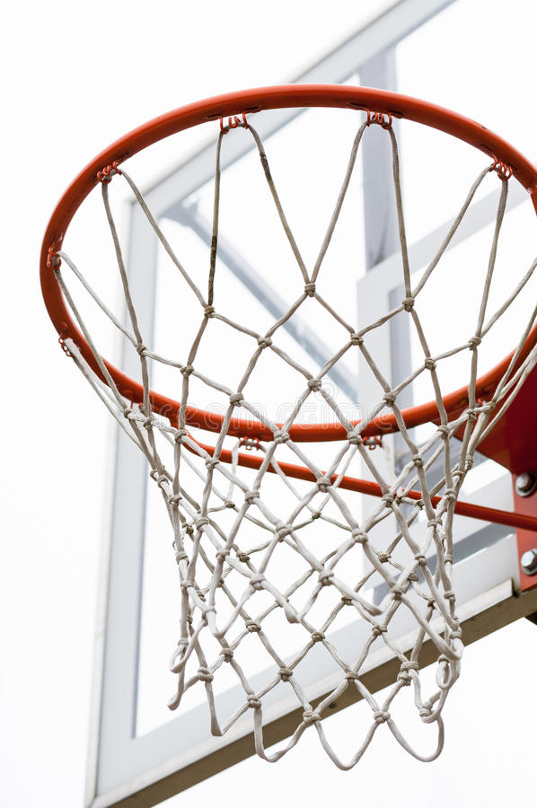 Cercle de basket-ball images libres de droits