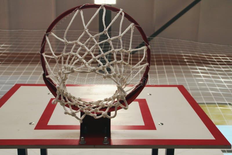 Cercle de basket-ball sur le fond image libre de droits
