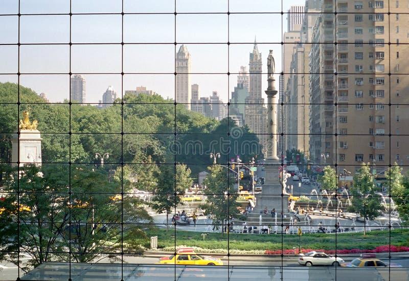 Cercle De Columbus, Manhattan. Photographie stock libre de droits