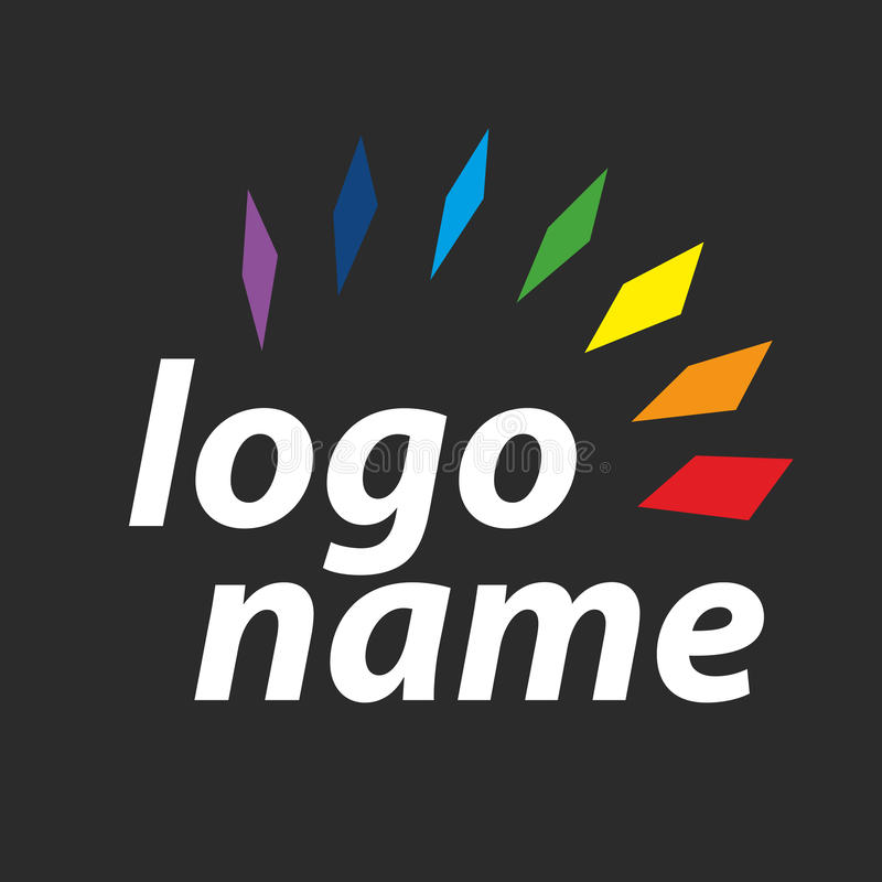 Spectre de logo illustration stock