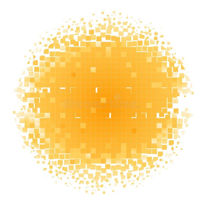 Cercle de mosaïque illustration de vecteur