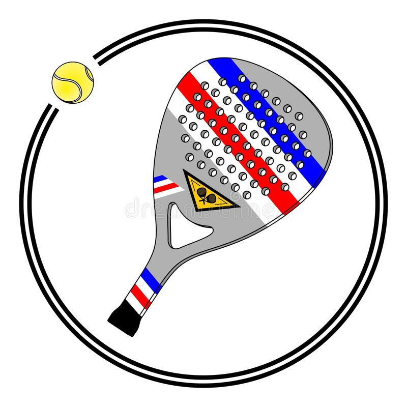 Cercle de palette illustration de vecteur