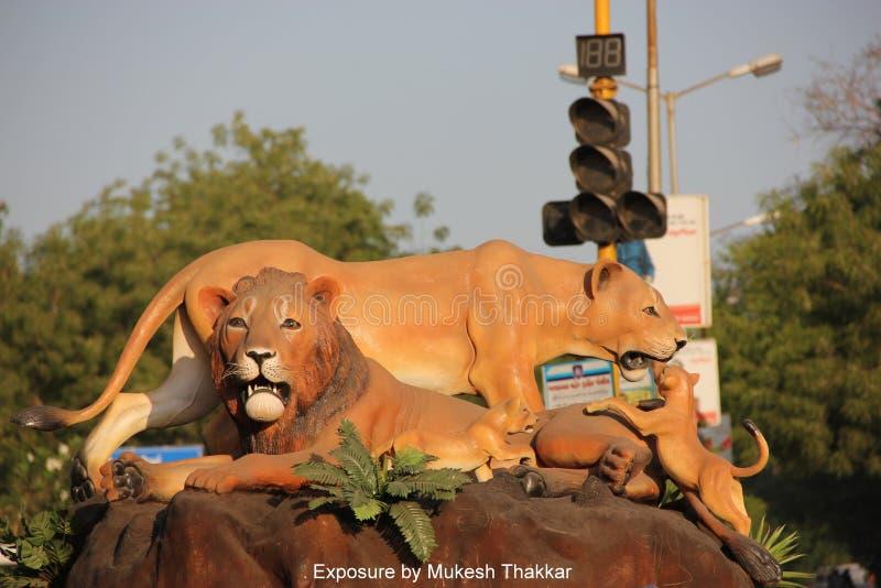 Cercle de Terre-Neuve ; Bodakdev ; Ahmedabad. images stock