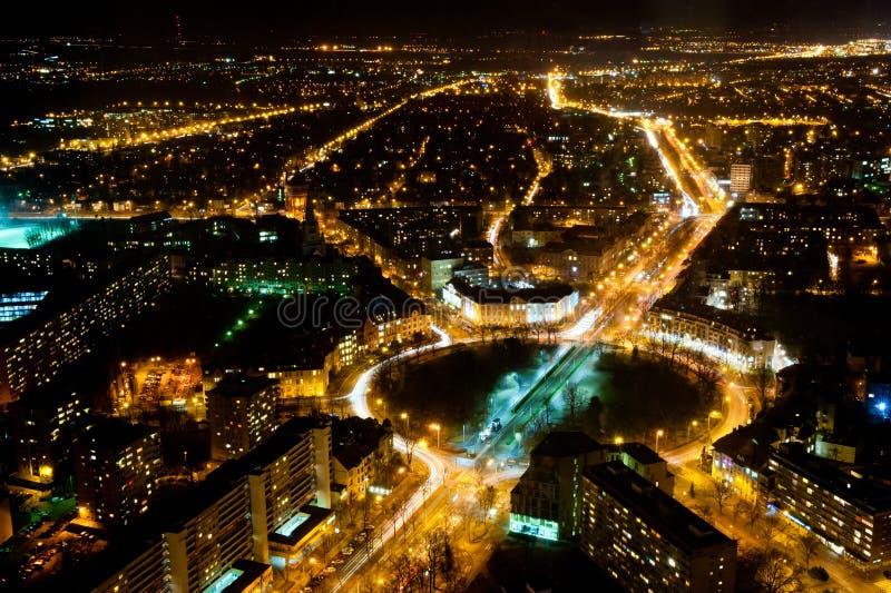 Cercle de trafic de Wroclaw photos libres de droits