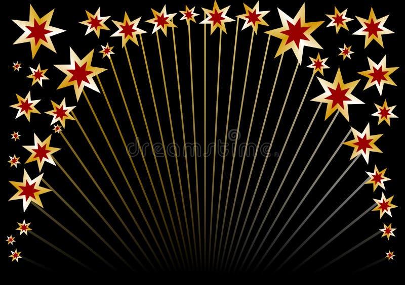 Cercle noir d'étoile photographie stock libre de droits