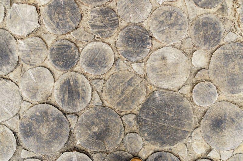 Cercle parquetant en bois de texture photos libres de droits
