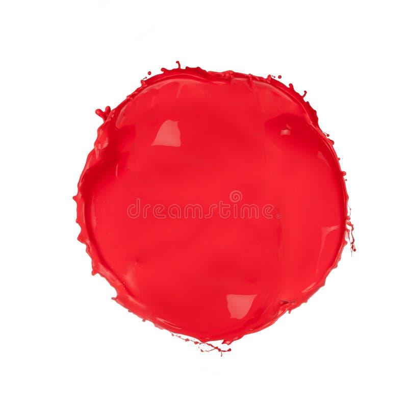 Cercle rouge photos libres de droits