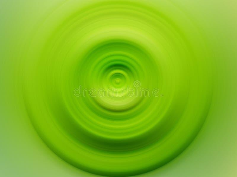 Cercle vert illustration de vecteur