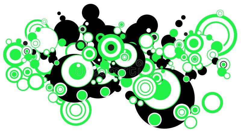 Cercles illustration libre de droits
