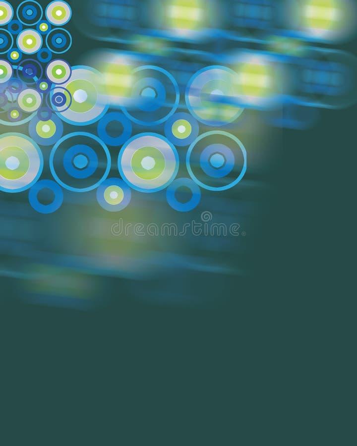 Cercles illustration de vecteur
