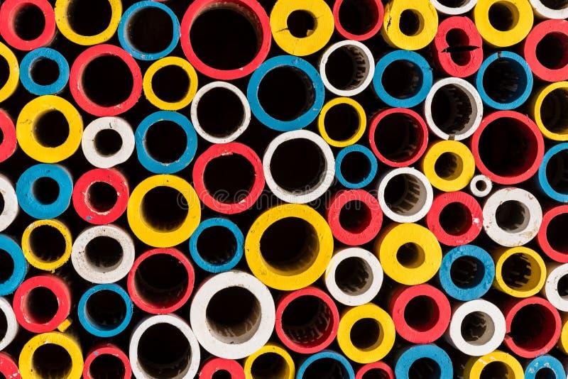 Cercles colorés multi photo stock
