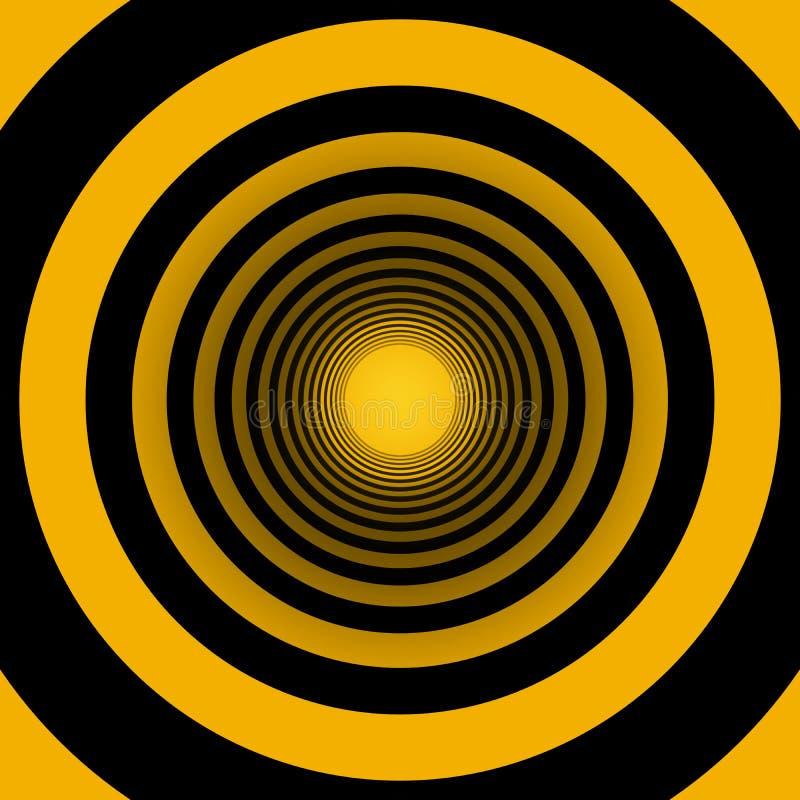 Cercles concentriques illustration de vecteur