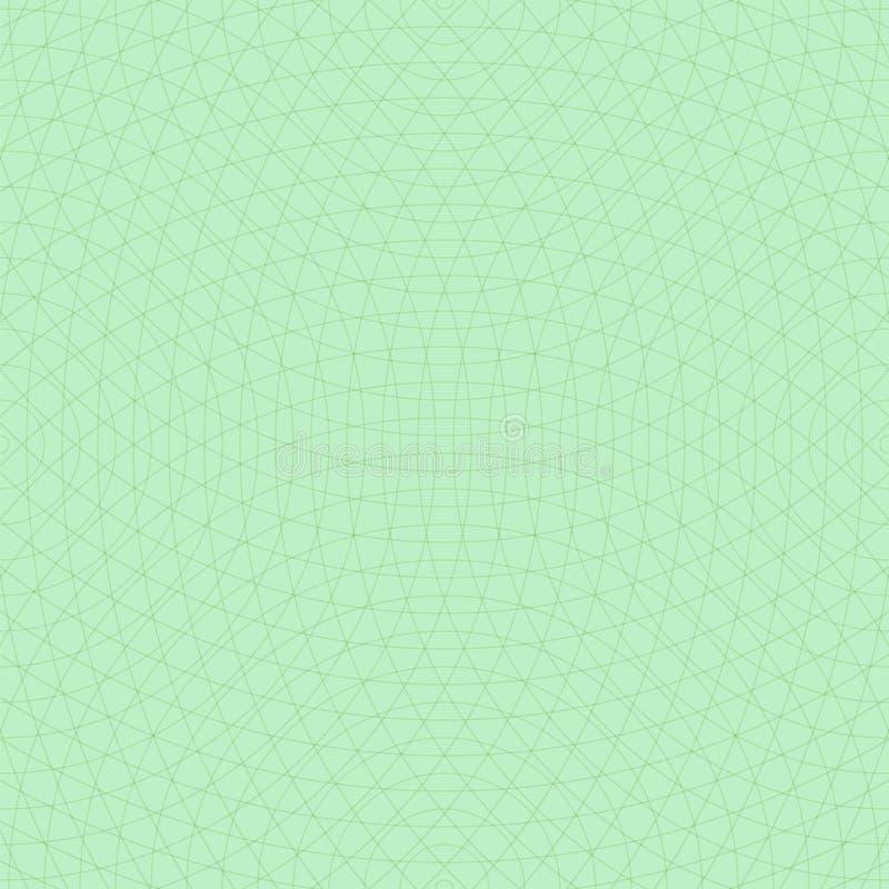 Cercles concentriques croisés Fond sans joint de vecteur illustration de vecteur