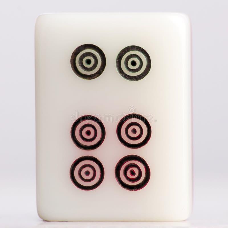Cercles d'†de Mahjong» images stock