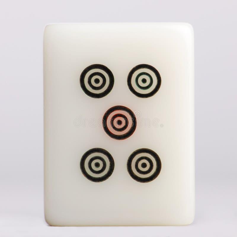 Cercles d'†de Mahjong» photos libres de droits